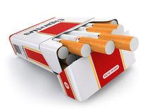 sigaretta-ingrassa-il-fondo-bianco-44255519